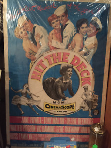 """Vintage Movie Poster 1950's  """"Hit The Deck"""""""