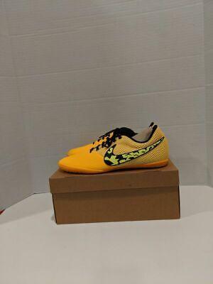 Nike Elastico Pro III Indoor Soccer Shoes Orange Volt Black Size 11