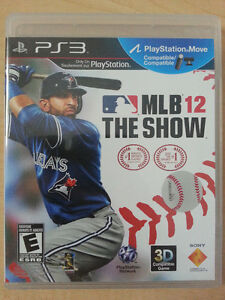 PS3 Games - MLB 12 The Show, UFC 2010