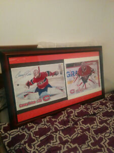 Signed Carey price framed pictures