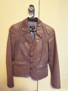 Danier Leather Jacket - XS