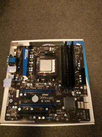 Amd a3400 apu, Msi motherboard and 2x2gb corsair ram