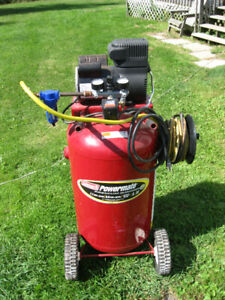33 Gallon Coleman Powermate Premium Air compressor