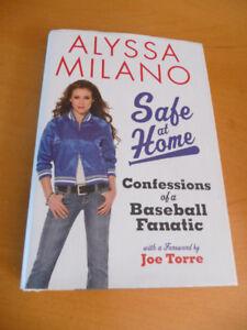 For sale..Alyssa Milano hard cover book