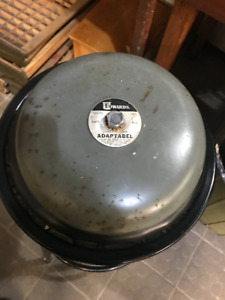 VINTAGE ELECTRIC FIRE BELL - ADAPTABEL - EDWARDS MFG. OWEN SOUND