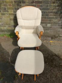 Dutalier Nursery Glider/rocking Chair