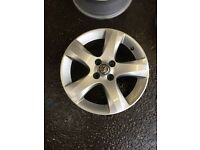 """2011 To 2014 Vauxhall Corsa D 16"""" Genuine Own Facelift Alloy Wheel Vgc Breaking"""