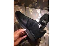 Valentino Rockrunner Triple Black Camo Rockstud Mens Footwear