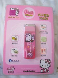 Brand new in box Hello Kitty 4GB USB w/ Fingerprint Recognition
