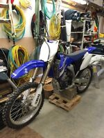 2008 yz 250f in MINT condition