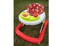 Red Kite Baby Walker, Go Round Jive : Had Light Use - Good Condition