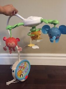 Fisher price mobile (99% new)