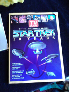 tv guide star trex 30 year special addition book
