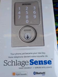 Schlage sense power smart lock