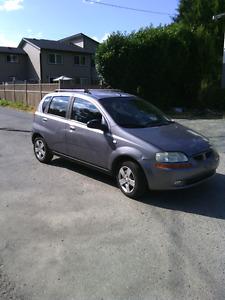 2006 Pontiac Wave 5 sped standard 146K $1000