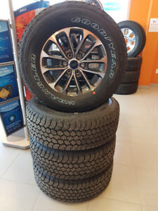 Set of four(4) F150 rims and tires