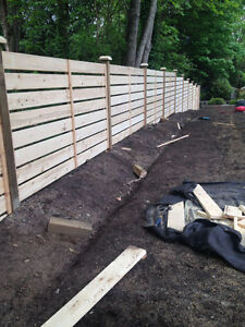 Big big sale cedar fence panel 6x8 5x8 4x8 & installation to