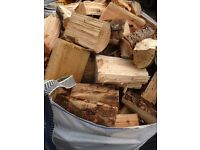 Seasoned logs fire wood ready to burn free local delivery