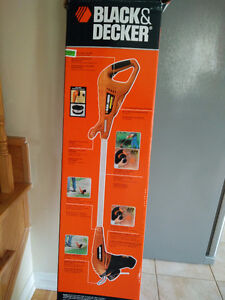 Black and Decker Cordless Trimmer and Edger