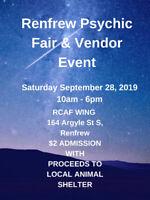 Renfrew Psychic Fair & Vendor Event