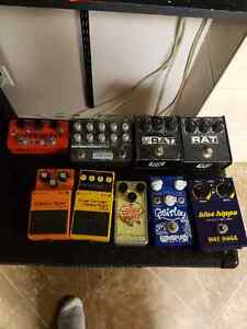 Lots of pedals