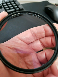 B+W UV Filter F-Pro for DLSR lens 82mm Screw-in