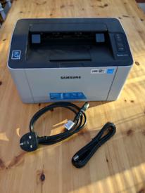 Working LASER B&W Samsung printer with toner
