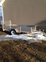 Aluminium UTV Trailer 5.5Ft X 10Ft