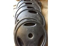 Pulse Fitness Olympic 140kg Olympic weights
