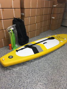 SUP paddle board gonflable 10,6 neuf Pagaie pompe sac inclus