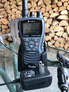 COBRA Radio VHF Marine Portable MR HH 350 !! BAISSE DE PRIX !!