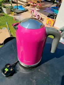 Pink Kenwood K Mix Kettle