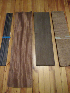 Lots of Veneers for Sale - Ebony, Rosewood, Walnut, Exotics, etc