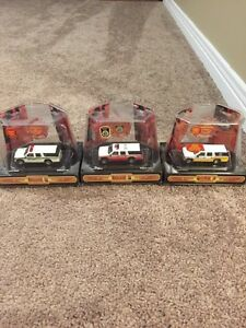 Code 3 fire truck collectibles