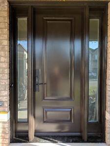 Door Entry Exterior Front Modern Designer  Supply Install