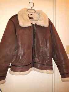 XL  DANIER brown leather jacket Kitchener / Waterloo Kitchener Area image 1