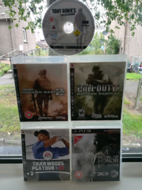 PS3 x5 best games tony hawk to call of duty and TWG all for £18