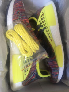 """Pharrell NMD """"Multi Colour"""" Trail DS, Size 9! NEW!"""