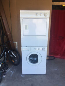Frigidaire stackable washer and dryer for sale