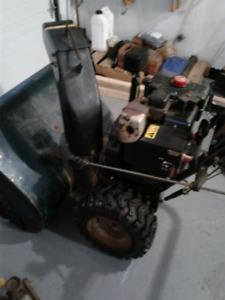 2001 craftsman 33 in snowblower