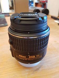 Objectif Nikon AS-F Nikkor 18-55mm DX VR