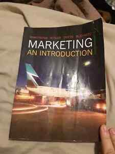 Marketing an introduction text book