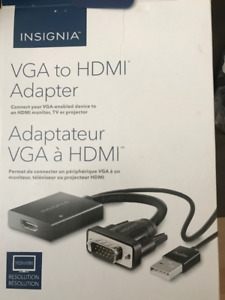 vga to HDMI adapter