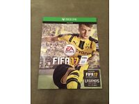 Xbox one FIFA 17 code