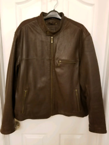 Genuine Leather Jacket - Mens XL