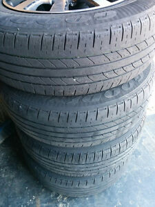 Alloy wheels with a good set of tires (5 bolt 5x100 or 5x113.4) Kitchener / Waterloo Kitchener Area image 2