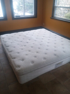 King Size Sears-O-Pedic Luxury pillow top.