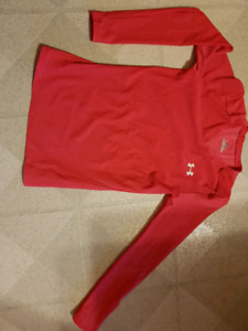 MEC Winter Jersey + under armour long sleeve shirt Youth 10-12