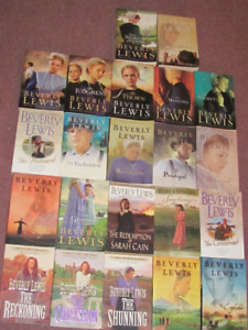 22 BEVERLY LEWIS Christian Romance Books