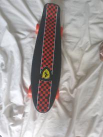 Mini ferrari skateboard